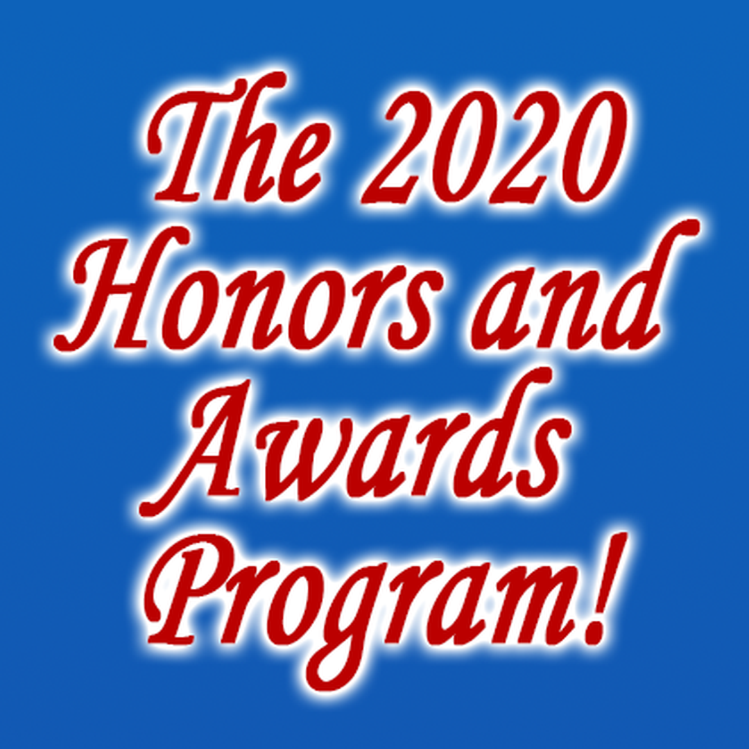 The 2020 Honor and Awards Program