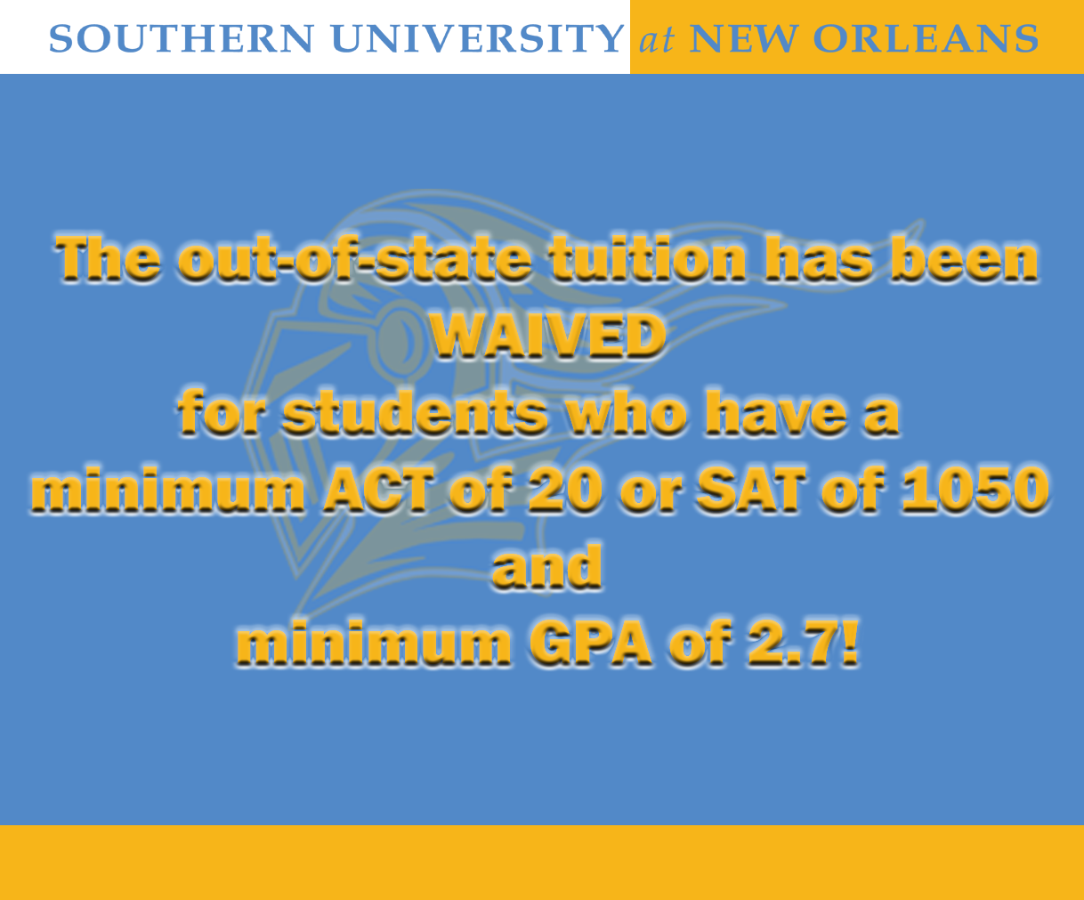 Student Tuition Waiver