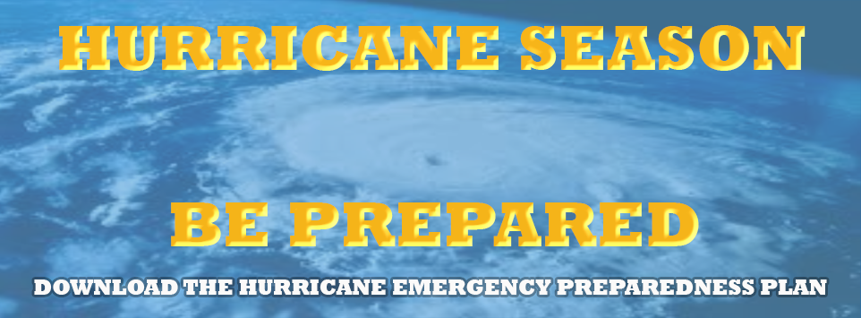 Hurricane Season, Be Prepared