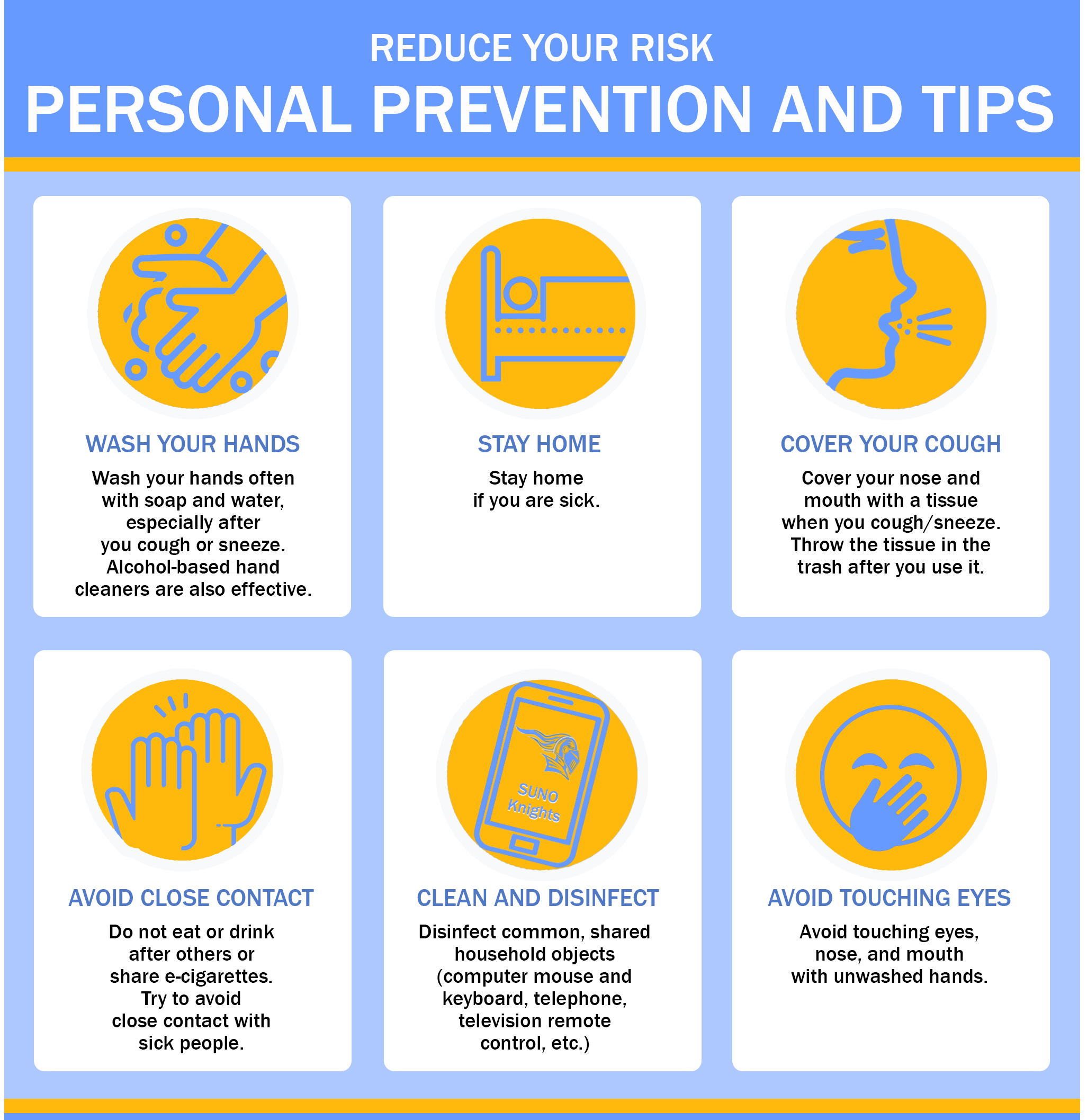 PERSONAL PREVENTION & TIPS